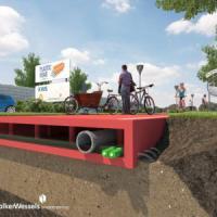 Ecosostenibile, bella e leggera: è la strada fatta di plastica