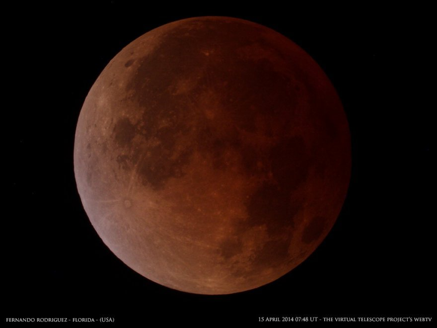 "Sarà una ""superluna"" di sangue, l'eclissi totale il 28 settembre"