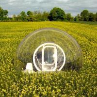 """Campeggio """"open view"""": la tenda è una bolla trasparente"""