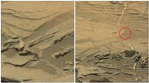 Marte, spunta anche un cucchiaio