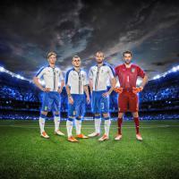 Nazionale, presentata la nuova maglia da trasferta