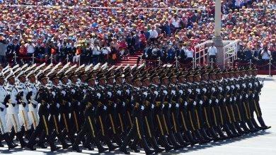 La Cina in parata mostra i muscoli -   foto   a 70 anni dalla vittoria sul Giappone -   vd