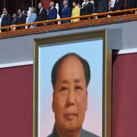 Cina, da al-Sisi a Putin: il palco delle autorità alla parata di Pechino