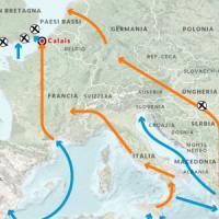 Profughi, i flussi e i Paesi che li respingono: una mappa per capire la crisi che divide...