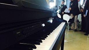Il tablet strano  di Lenovo   Foto    e il pianoforte  ibrido di Casio