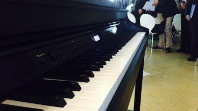 """Casio Celviano, il pianoforte """"ibrido""""  col meglio di mondo digitale e acustico"""