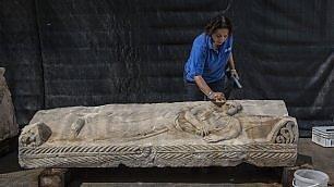 Israele, scoperto un sarcofago il reperto risale a1800 anni fa