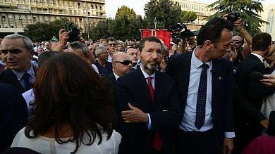 """Marino: """"Abbiamo cacciato i fascisti da Roma, faremo lo stesso con i mafiosi"""""""