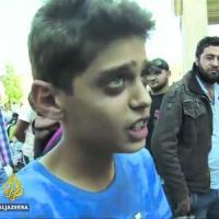 Cosa ci  dicono quei volti dei bimbi in fuga dalla guerra