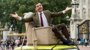 Venticinque anni di risate  Mr. Bean festeggia a Buckingham