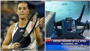 Gioca Pennetta, precipita drone arrestato il pilota: un professore