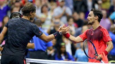Fognini, grande impresa  Nadal battuto al 5°   Foto     Seppi  fuori con Djokovic