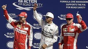Monza, Hamilton in pole Ma la Ferrari è vicinissima