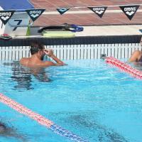 Amore in vasca: Pellegrini e Magnini si allenano insieme