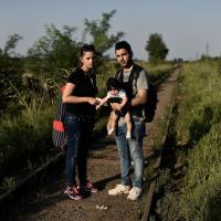 Da Bagdad a Monaco: la fuga di una coppia di migranti e del loro neonato