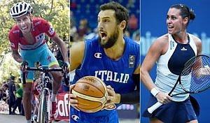Ciclismo, tennis, basket: pomeriggio azzurro. Bravo Aru, Pennetta in semifinale, Italbasket batte la Germania
