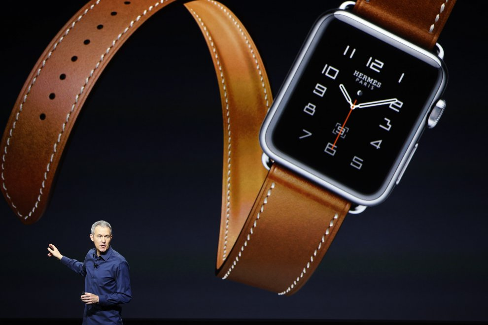 Apple, a San Francisco il lancio dei nuovi Watch: cinturini in pelle firmati Hermes