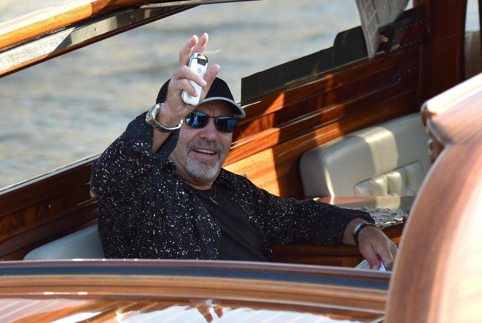 """A Venezia è il giorno di Vasco: """"Con me la Mostra diventa rock"""""""