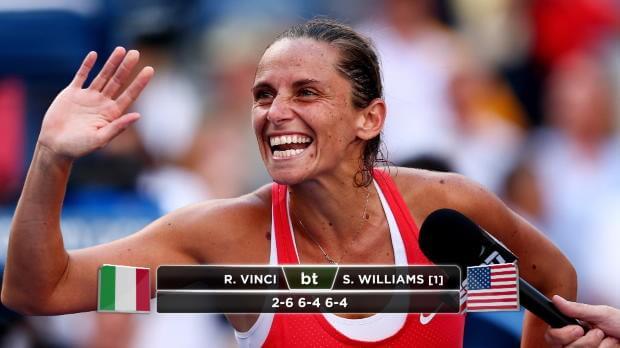 US Open, storica finale Pennetta-Vinci