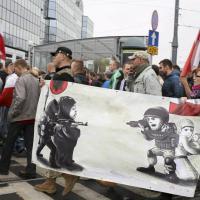 Varsavia, Praga e Bratislava: nazionalisti in piazza contro i migranti