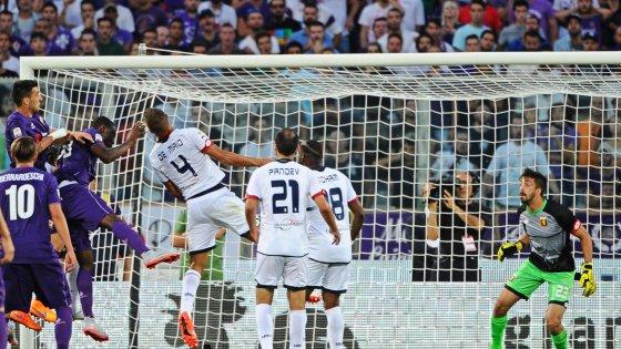 Fiorentina-Genoa 1-0, ai viola basta un lampo di Babacar