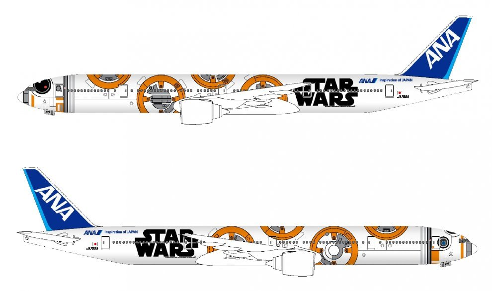 Giappone, Ana presenta i tre aerei di Star Wars: primo decollo a ottobre
