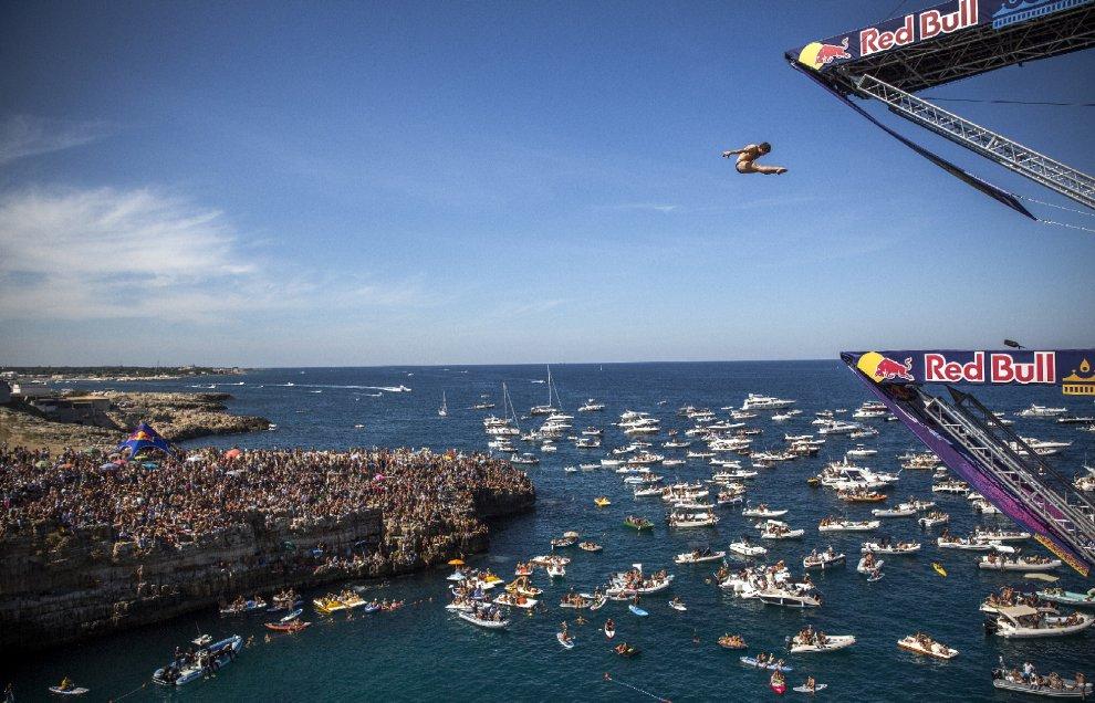 Red Bull Cliff Diving 2015, i vincitori di Polignano a Mare