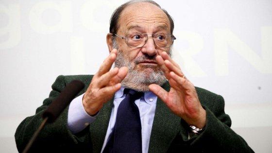 """Umberto Eco: """"Così il darci del Tu rischia di impoverire la nostra memoria e il nostro apprendimento"""""""