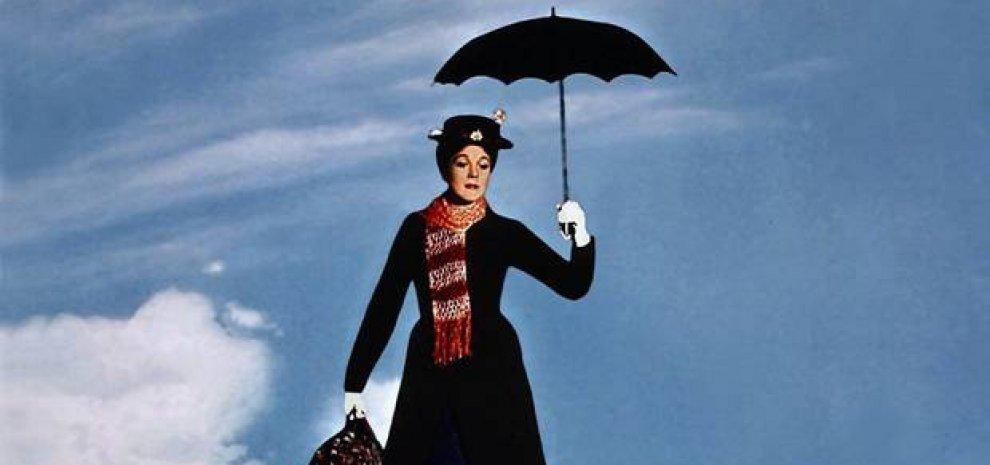 """""""Mary Poppins"""", torna la tata con l'ombrello, 51 anni dopo la Disney pensa al sequel"""