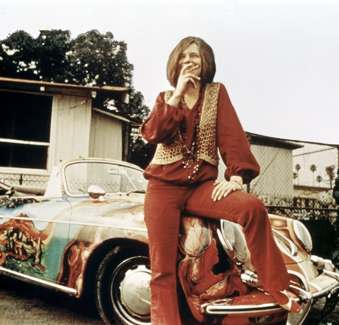 New York, all'asta la Porsche 'pop' di Janis Joplin