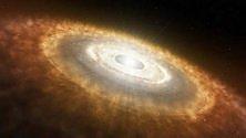 """Le """"culle"""" dei pianeti? Grandi dischi di polvere"""