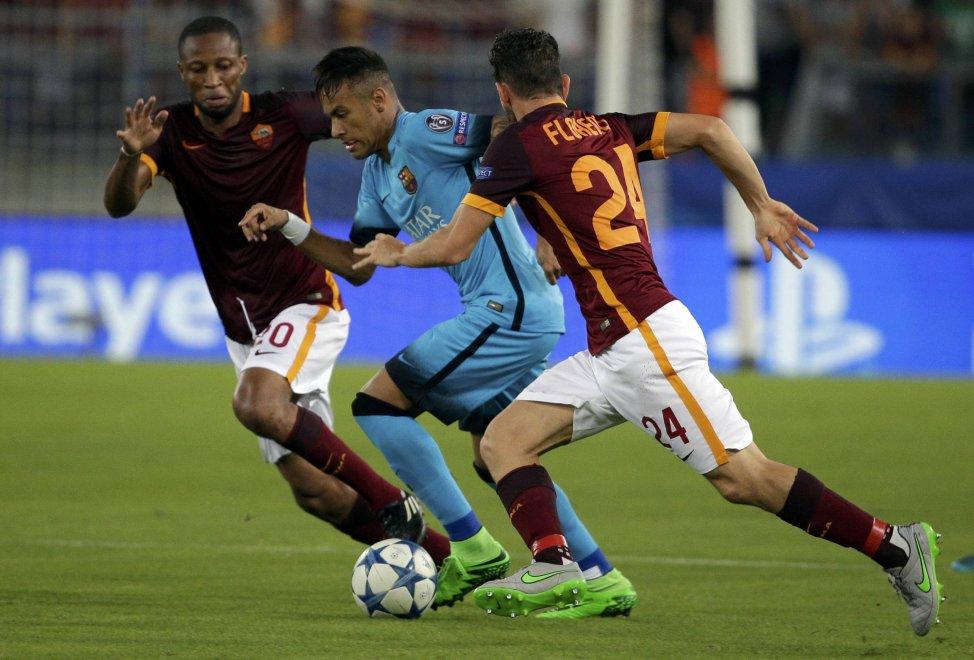 Рома - Барселона 1:1. Супергол на фоне грязной игры - изображение 5