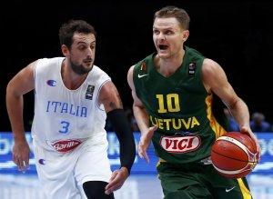 Basket, Europei: Italia battuta all'overtime dalla Lituania