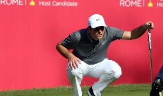 Golf, Open d' Italia: bella partenza di Francesco Molinari