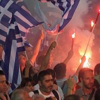 Atene, chiude la campagna in piazza il leader che ha risollevato Nea Demokratia