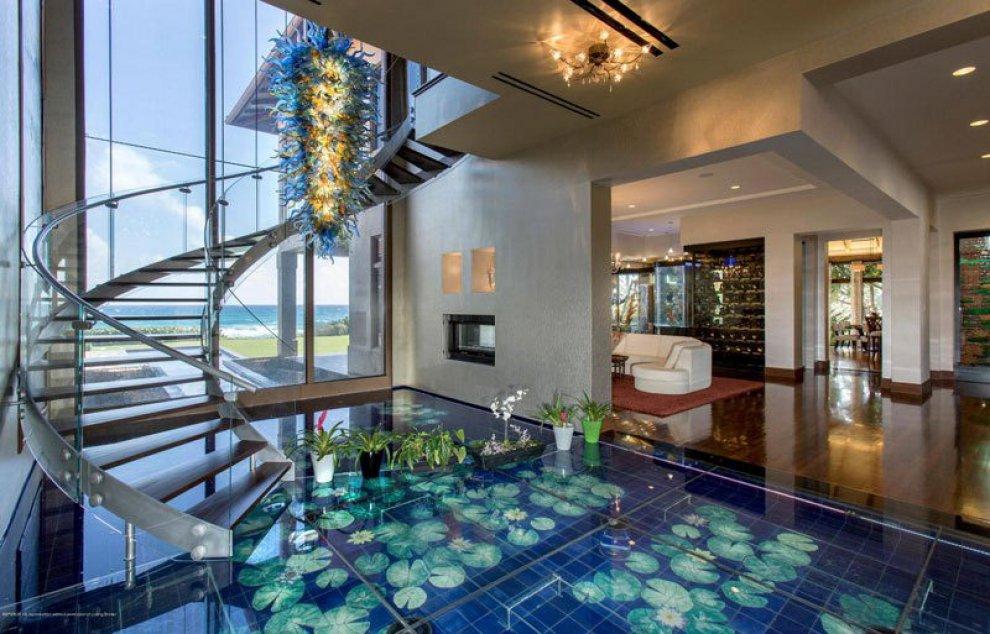 Florida l 39 acqua ovunque la casa ecologica e deluxe vista oceano - Depurare l acqua di casa ...