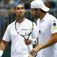 Tennis, Coppa Davis: il doppio Bolelli-Fognini spinge l'Italia a un passo dalla salvezza