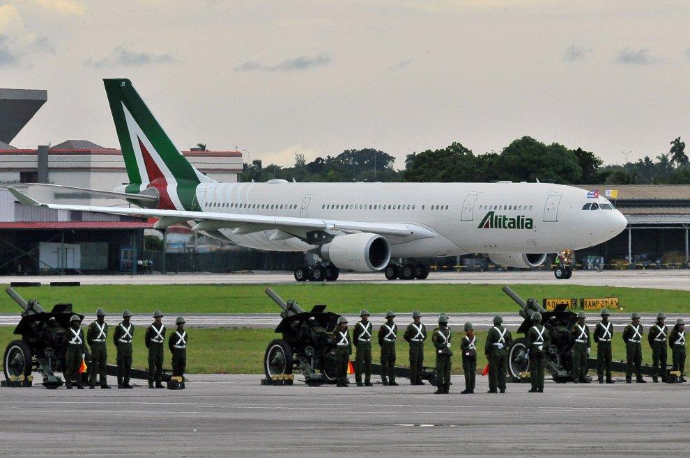 Cuba, l'arrivo di Papa Francesco
