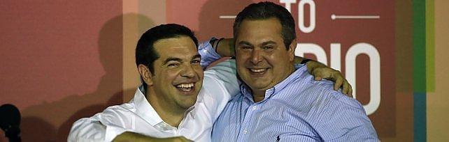 """Grecia, Tsipras vince di nuovo le elezioni    ft -      vd          """"Noi duri a morire, è vittoria della gente""""   video"""