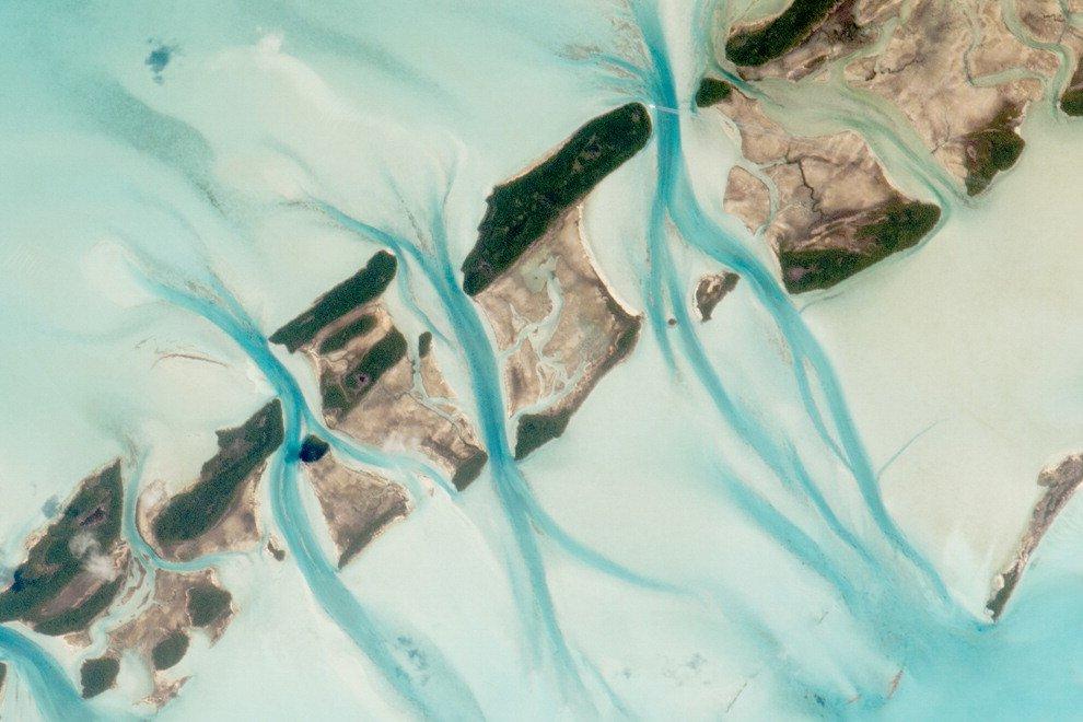 Pennellate di blu alle Bahamas, il disegno delle correnti tra le isole - Repubblica.it