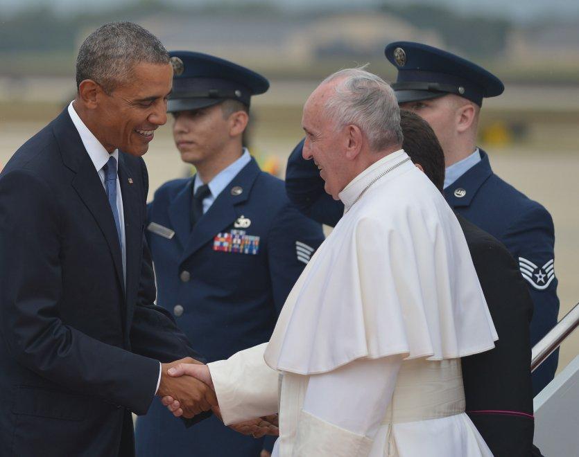 La visita del Papa negli Stati Uniti, il fotoracconto