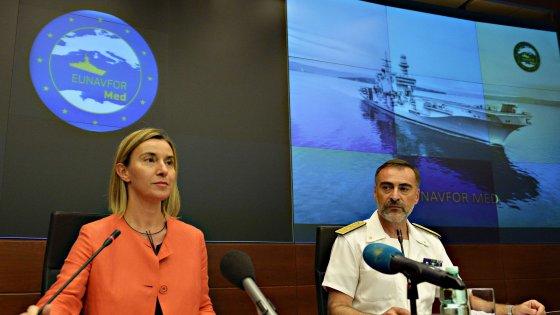 """Mogherini: """"Le regole di Dublino sono ormai superate, l'Europa si muova insieme"""""""