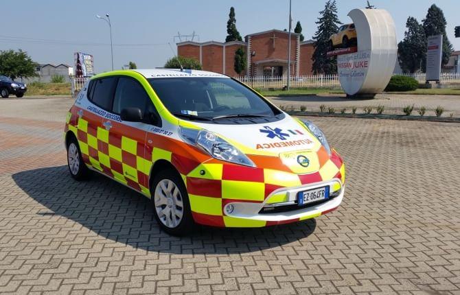 Ecco la prima LEAF per il trasporto medico