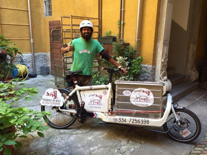Bicicletta Olandese Con Cassone