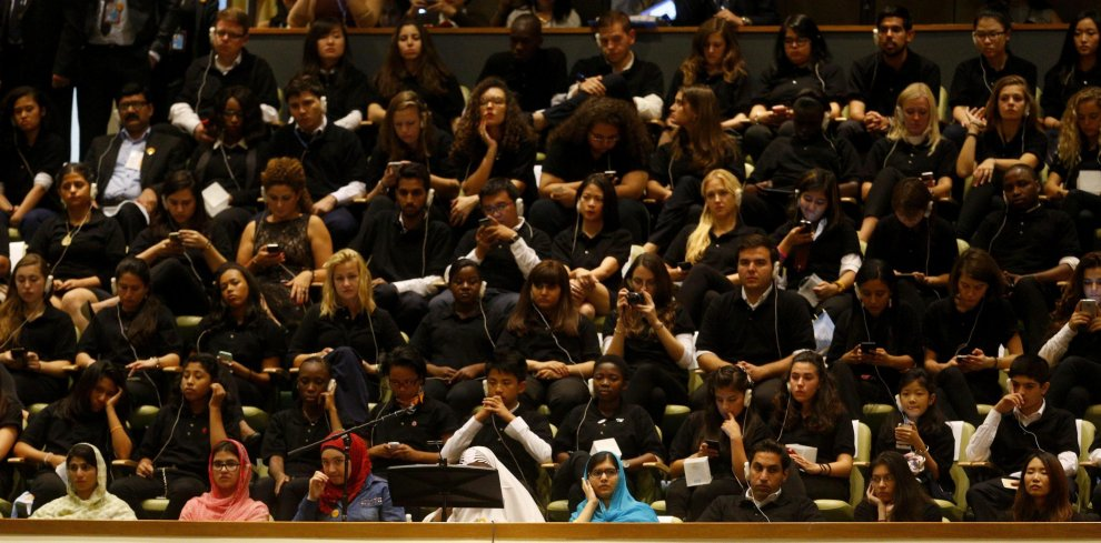 Papa in Usa, Malala assiste al discorso all'Onu