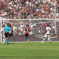 Genoa-Milan 1-0, Dzemaili ferma la rincorsa dei rossoneri