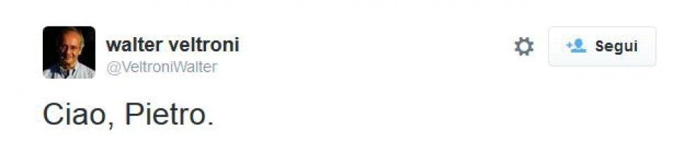 Addio a Pietro Ingrao: il cordoglio su Twitter