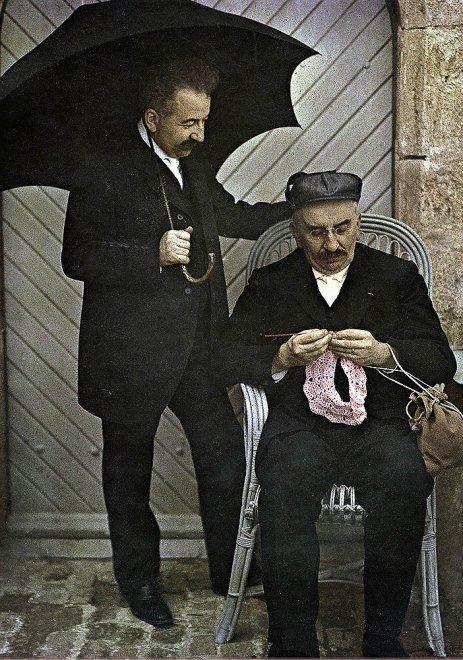 Fecola di patate e lastre di vetro: 110 anni di fotografia a colori