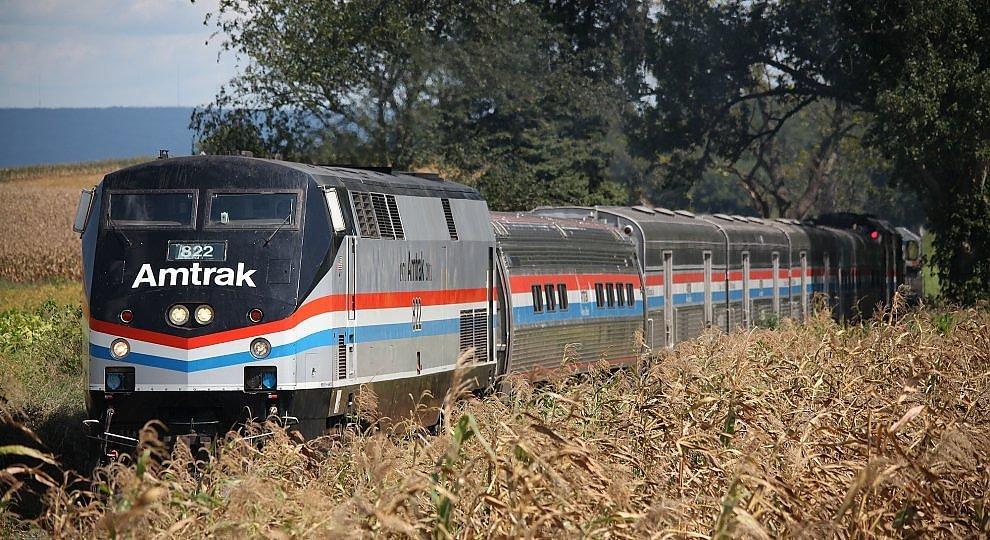 L'America da un treno -    foto