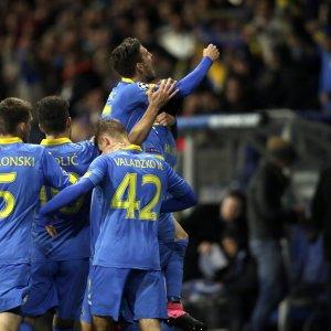 Bate Borisov-Roma 3-2, primo tempo disastro e rimonta non riesce